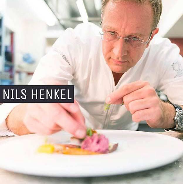 Nils Henkel mit Teller